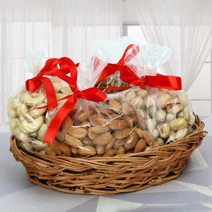 Basket Full of Dry Fruits