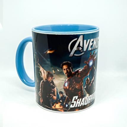 Avengers Theme Photo Mug