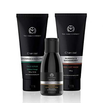 The Man Company Charcoal Cleansers Trio