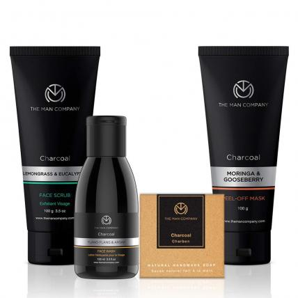 The Man Company Charcoal Power Pack Gift Sets