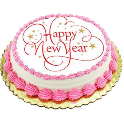 H N Year Photo Cake