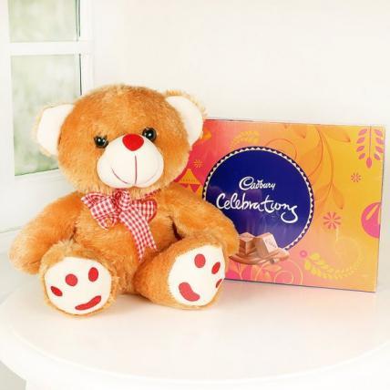 Valentine chocolicious teddy