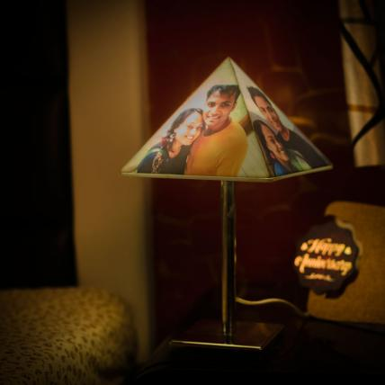 Pyramid Lamp with stand