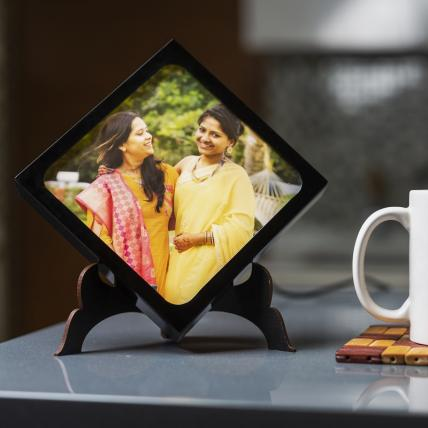 Kite shaped light photo Frame