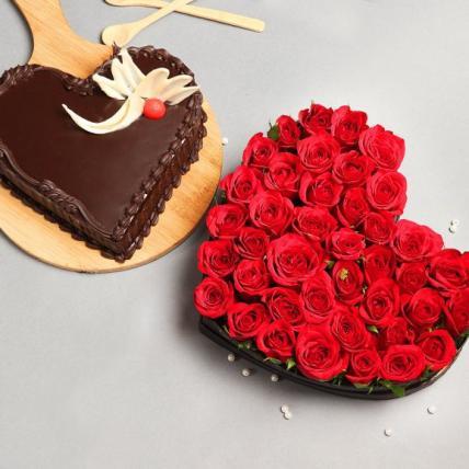 Valentine Fantasy Chocolaty Combo