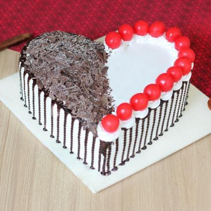 Heart to Heart Beautiful Cake