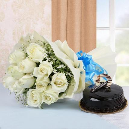 Sinful Roses & Choco Combo