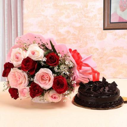 Glory Mix Roses & Choco Combo