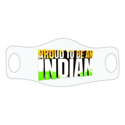 Proud To Be Indian Face Mask