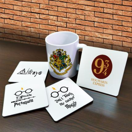 Harry Potter Mugs and Coasters Combo