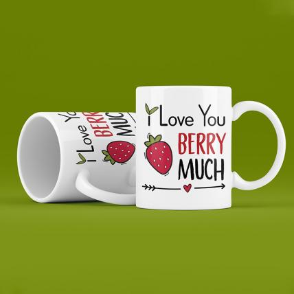 I Love You Berry Much Mug Set
