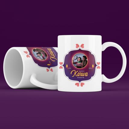 Happy Karwa Chauth Mug Set
