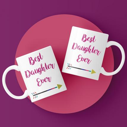 Best Daughter Ever Mug Set