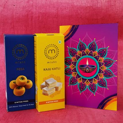 Diwali Sweets and Card