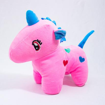 Pink Unicorn Soft Toy