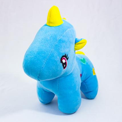 Blue Unicorn Soft Toy