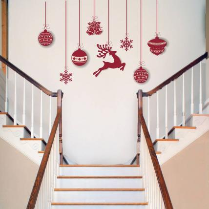 Christmas Decorative Wall Stickers