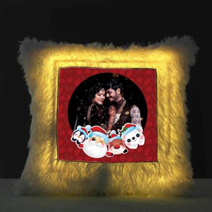 Christmas LED Cushion