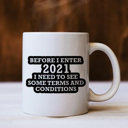 Trendy New Year Mug