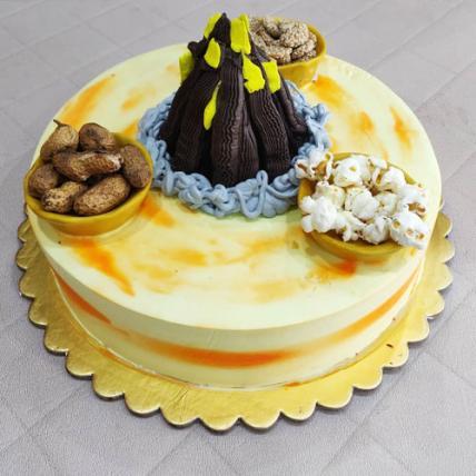 Special Lohri Celebration Cake