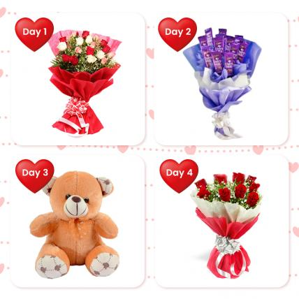 Valentine Serenade- 4 Day Serenade