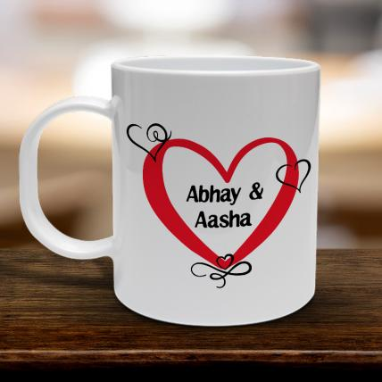 Personalised Name Love Mug
