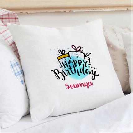 Special Personalised Birthday Cushion