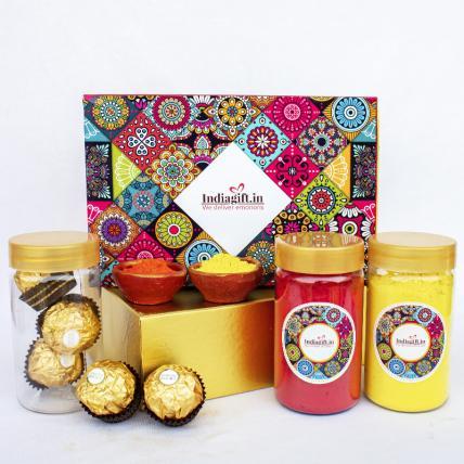 Colourful Choco Celebration Box