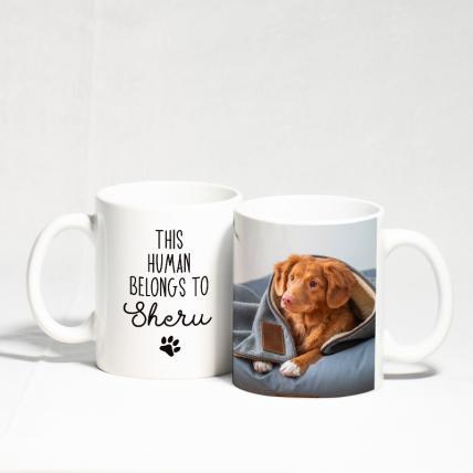 Special Dog and Human Mug