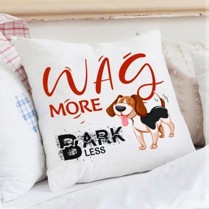 Wag More Dog Cushion