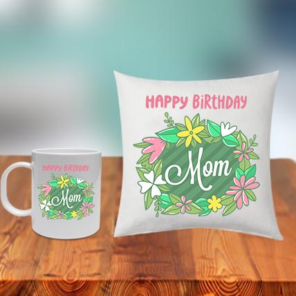 Mom Cushion Mug Set