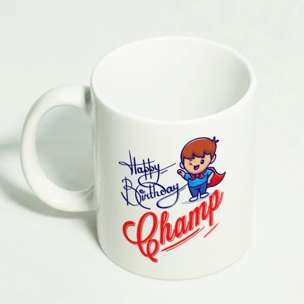 Special Champ Birthday Mug