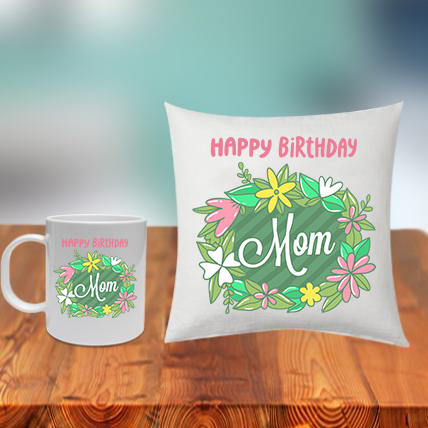 Mom Cushion Mug Set