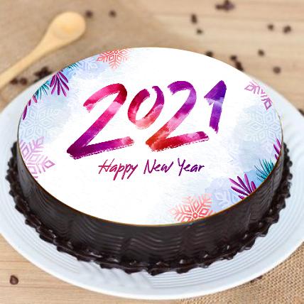 Happy New Year Delicious Cake