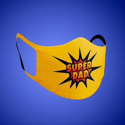 Super Dad Face Mask Adult
