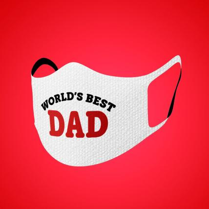 Best Dad Face Mask Adult