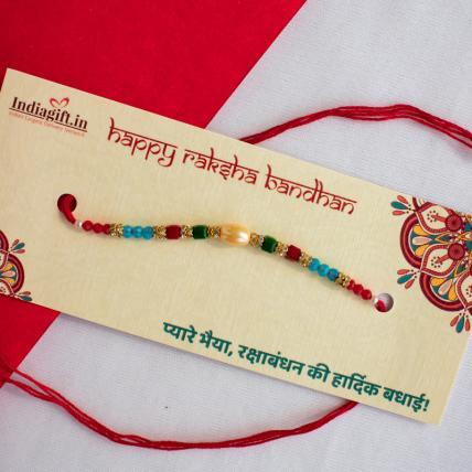 Unique Pearly Rakhi