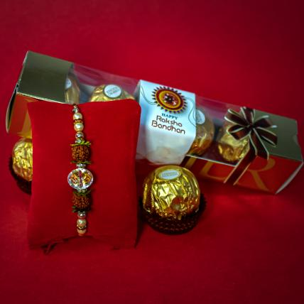 Kesari Rukdrash Rakhi and Chocolate