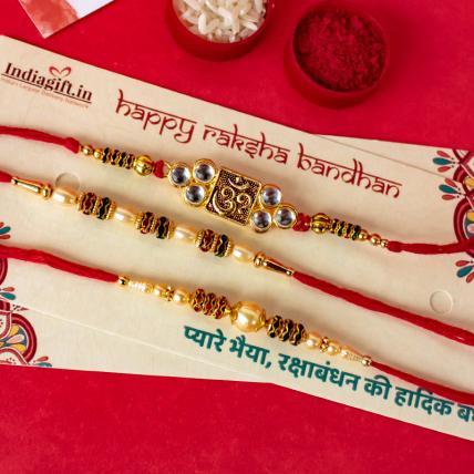 Special OM Mouli Rakhi Combo