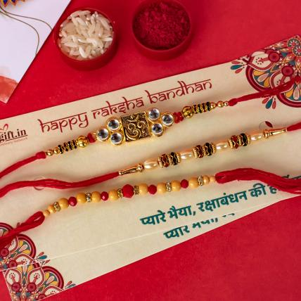 Special Rakhi Combo of 3