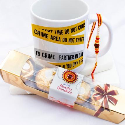 Crime Partner Rakhi & Forrero Rocher Combo