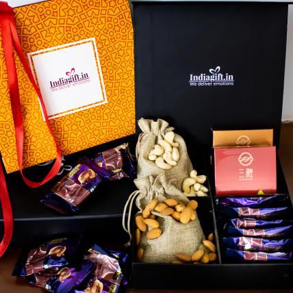 Dry fruits Tea Pack Diwali Box