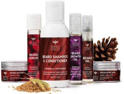 Bombay Shaving Company 6-In-1 Complete Beard Care Kit